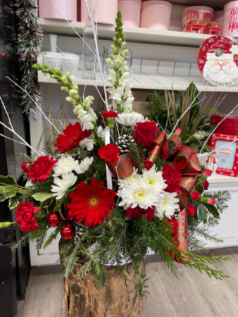 Holly jolly Floral arrangement