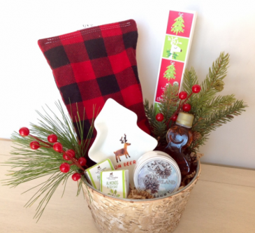 Holly Jolly Gift Basket