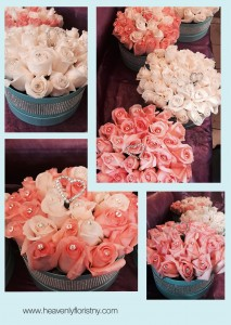 HOLLYWOOD ROSE HAT BOX  in Ozone Park, NY | Heavenly Florist