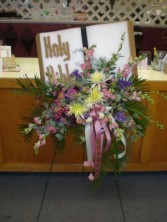 HOLY BIBLE FUNERAL FLOWERS