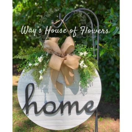 Home Door Hanger