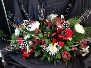 Home for Christmas Customize your Centerpiece in Clearwater, FL | FLOWERAMA