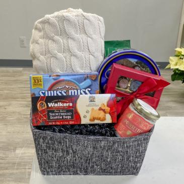 Home for Christmas Gift Basket