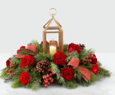 Home for Christmas Lantern Centerpiece #19-c3