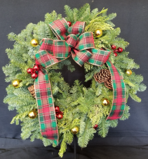 "Home for the Holidays 22"" Wreath"
