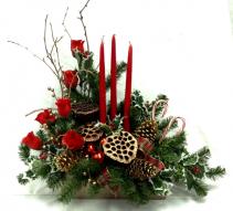 Happy Holidays Centerpiece