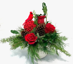 Home For The Holidays  Christmas Arrangement  in Lincoln, NE | Stem Gallery