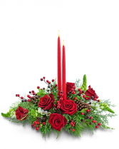 Home for the Holidays Flower Arrangement