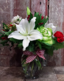 Home for the Holidays Vase Arrangement