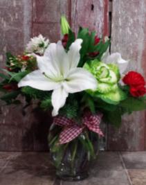Home for the Holidays Vase Arrangement