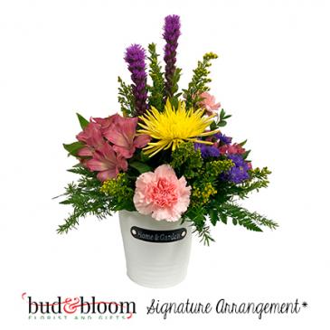 *SOLD OUT* Home & Garden Bud & Bloom Signature Arrangement