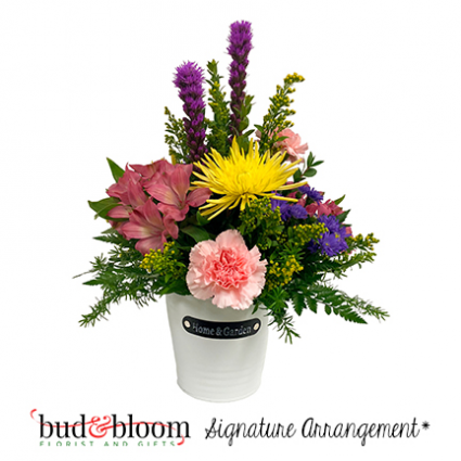 *SOLD OUT* Home & Garden Bud & Bloom Signature Arrangement