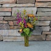 Home Harvest Vase Arrangement