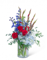 Home of the Brave Flower Arrangement