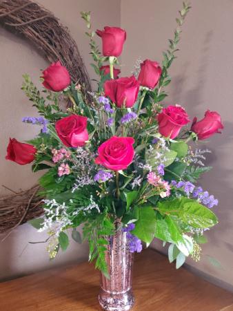 Home run premium dozen roses Roses