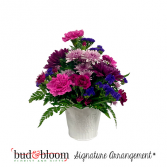 *SOLD OUT* Home Sweet Home Bud & Bloom Signature Arrangement