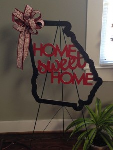 Home Sweet Home Door Hanger/Wall Hanger