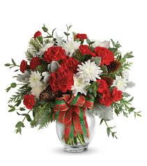 Homecoming Christmas Floral Arrangement