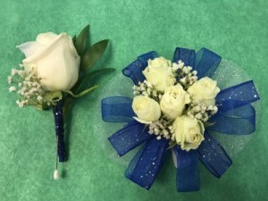 Homecoming Special Boutonniere and Corsage for $35.00 in Marysville, WA | What's Bloomin' Now Floral