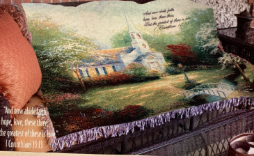 Hometown Chapel Quilt/Throw