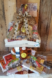 Honey Holiday Breakfast Basket Food Gift Basket