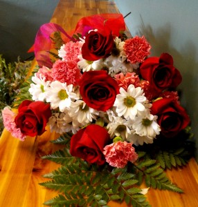 Honey I'm Home!!! Rose and Carnation Bouquet SPECIAL