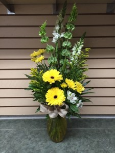 Honey Sweet Vase Arrangement