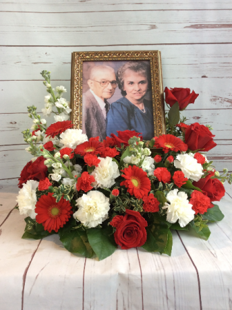 Honor Thy Family  Picture or Urn Arrangement