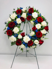 Honor to Service Wreath