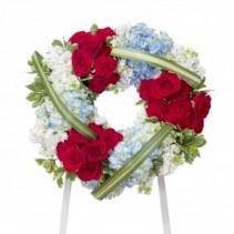 Honor Wreath Standing Spray
