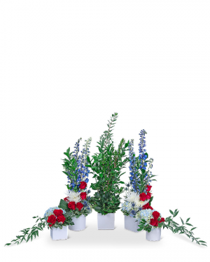 Honorable Tribute Sympathy in Nevada, IA | Flower Bed