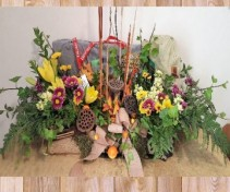 Honoring the Sportsman casket flowers