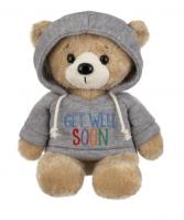 Hoodie Bear Stuffed Animal