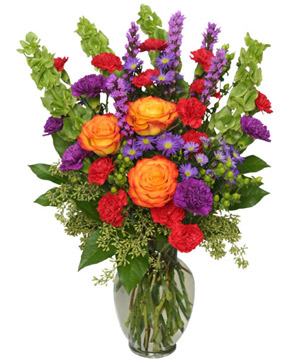 HOORAY FOR SUMMER! Bouquet in Ironwood, MI | STEMS FLOWER SHOP