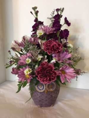 Hoots in Blooms   in Fowlerville, MI | ALETA'S FLOWER SHOP