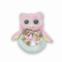 Hootsie Ring Rattle Bearington Baby Collection