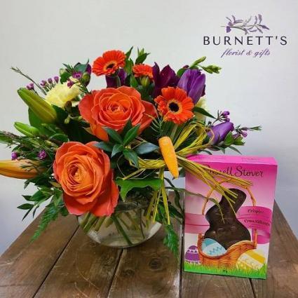 Hop into Spring Vase Arrangement
