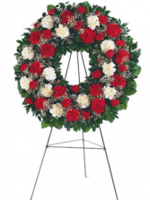 Hope and Honor Standing Wreath Standing spray