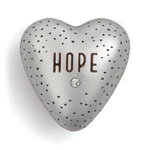 Hope heart with gem
