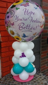 Hope You are felling better Balloon Arrangement Balloons