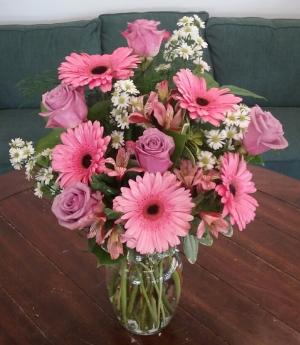 Hopeless Romantic Arrangement in Bluffton, SC   BERKELEY FLOWERS & GIFTS
