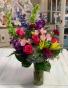 Hopelessly Devoted  Lush Vase Arrangement
