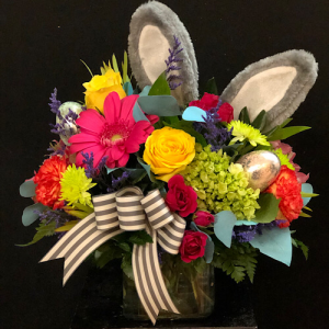 Hoppin' and a Boppin' Cube  in Chesterfield, MO | ZENGEL FLOWERS AND GIFTS