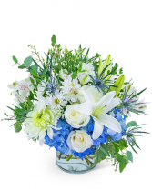 Horizon Line Flower Arrangement