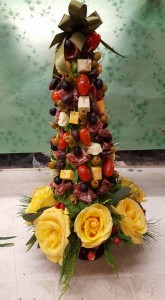 hors d'oeuvres tree Gourmet item in Plum, PA | FOREVER GREENE FLOWERS INC.