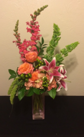 Hot and Spicy Vase Arrangement