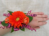 Hot and Wild Prom Corsage
