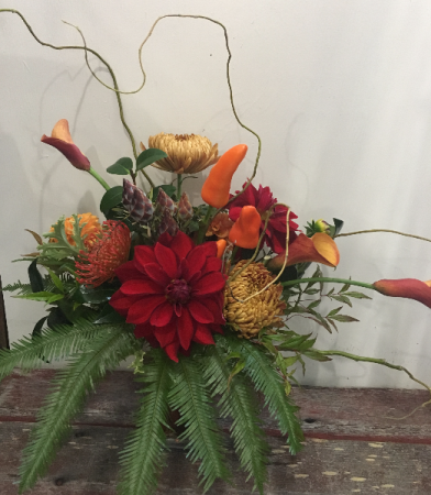 Hot Cha Cha Vase Arrangement