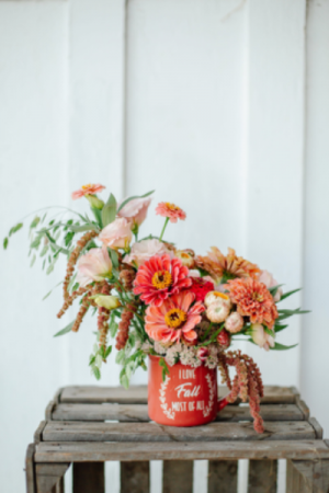 Hot cocoa Autumn mug in Beloit, OH   American Flower Farm & Florist