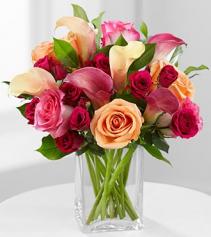 Hot Lady Vase Arrangement